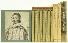 A Collection Of Books On Master Drawings.