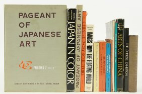 A Collection Of Books On Chinese And Japanese Art.
