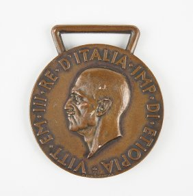 An Italian Bronze Medal.