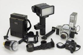A Beseler Topcon Super D Camera.