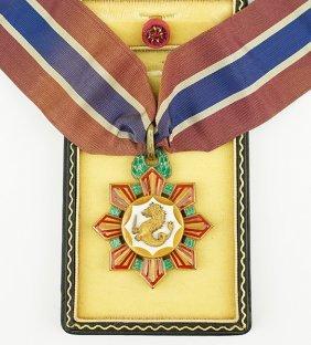 An Ambasaddor Medal.