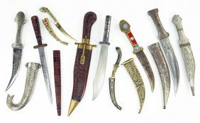 A Collection Of Daggers.