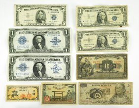Two 1923 Silver Certificate Notes.