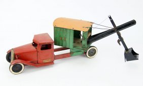 A Structo Steam Shovel Truck.