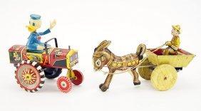 A Marx Donkey Windup Toy.