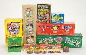 A Collection Of Contemporary Baseball Cards.