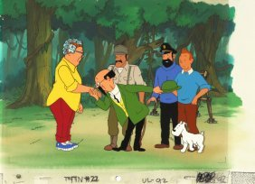 "Ellipse Programmé - ""the Adventures Of Tintin"", 1991"