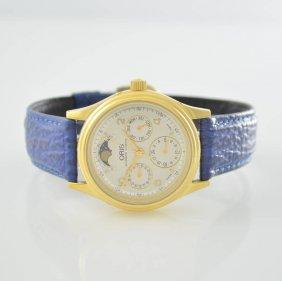 Oris Gents Wristwatch With Calendar Including Moon