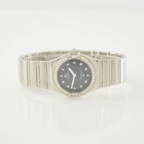 Omega Constellation My Choice Ladies Wristwatch