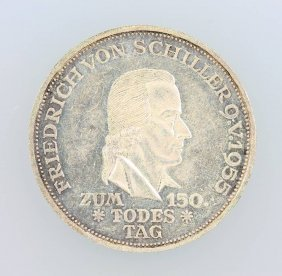 5 Dm Memorial Coin, Germany 1955