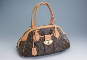 Louis Vuitton Hand Bag, Bowling