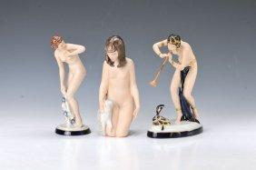 Four Figurines