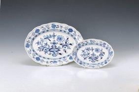 Two Ovale Platters, Meissen