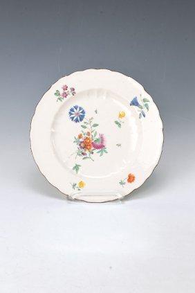 Plate, Frankenthal, Around 1777