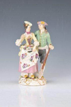 Porcelain Group, Meissen Around 1890
