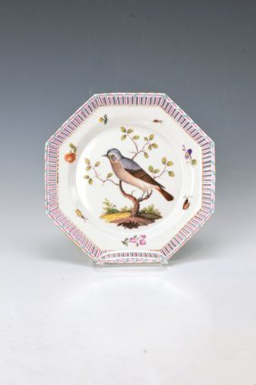 Plate, Kpm Berlin, Around 1780