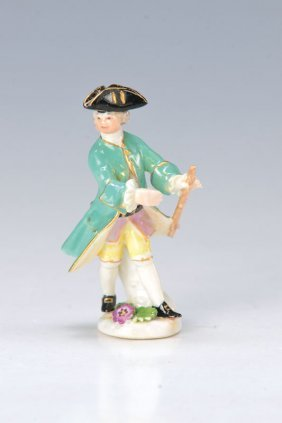 Figurine, Meissen, Around 1760