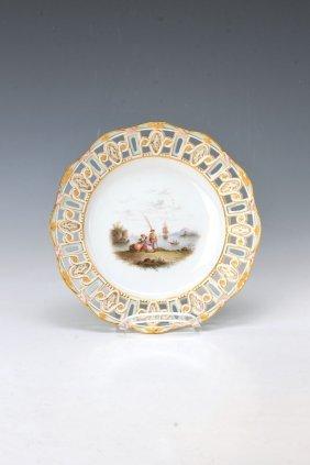 Plate, Meissen, Around 1870