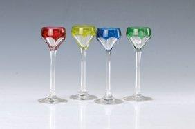 6 Liqueur Glasses, St. Louis
