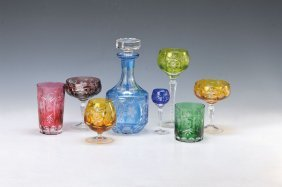 Glass Set, Nachtmann, 20th C.
