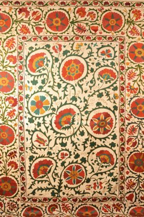 Ancient Susani Silk Embroidery