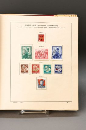 Stamp Vollection, Ddr
