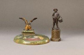 2 Bronze Sculptures Around 1900