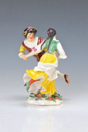 Porcelain Group, Meissen, 1910