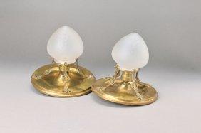 Pair Of Ceiling Lamps, Austria
