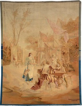 Tapestry De Manufactory 'crocpere Fils & Jorrand'