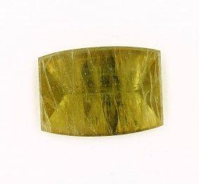 Loose Green Beryl, 28.5 Ct, Bevelled Rectangle