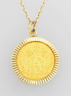 Coin Pendant, 1 Ducat