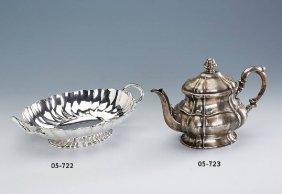 Bowl, 800 Silver, German