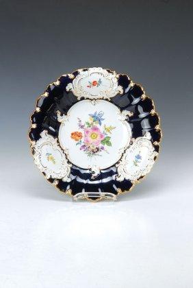 Pompous Plate, Meissen, 1960s