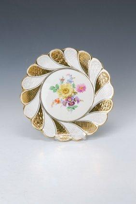 Plate, Meissen, Around 1880