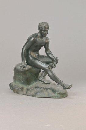 Bronze Sculpture, German