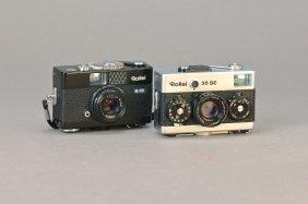 2 Miniature Cameras Rollei