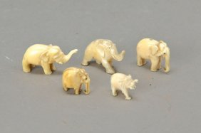 5 Small Elephants, Colonial Style