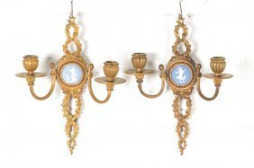Pair Of Wall Sconces, France