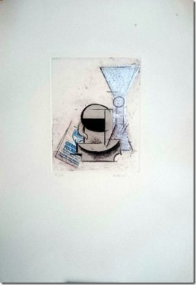 Manolo Valdes- Etching And Collage