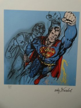 Andy Warhol-- Superman