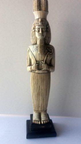 Egyptian Pharaoh Ivory, Hand Carved
