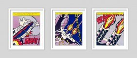 Roy Lichtenstein (after) - As I Opened Fire, 1967