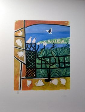 Pablo Picasso Lithograph -limited Edition-hand Numbered