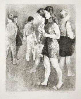 Raphael Soyer, (1899-1987, Russian/american)