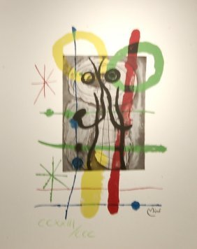 After Joan Miro, (1893-1983, Spanish)
