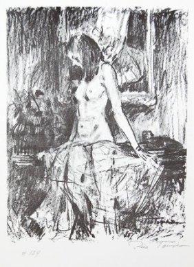 Rico Tomaso (1898-1985) American. Lithograph, Signed.