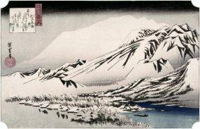Hiroshige - Unknown (landscape)
