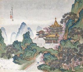 Li Qing - Blue And Green Landscapes