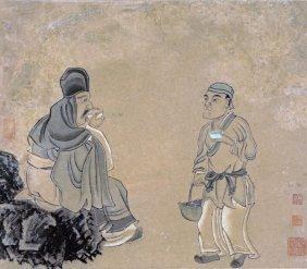 Chen Hongshou - Tasting Tea